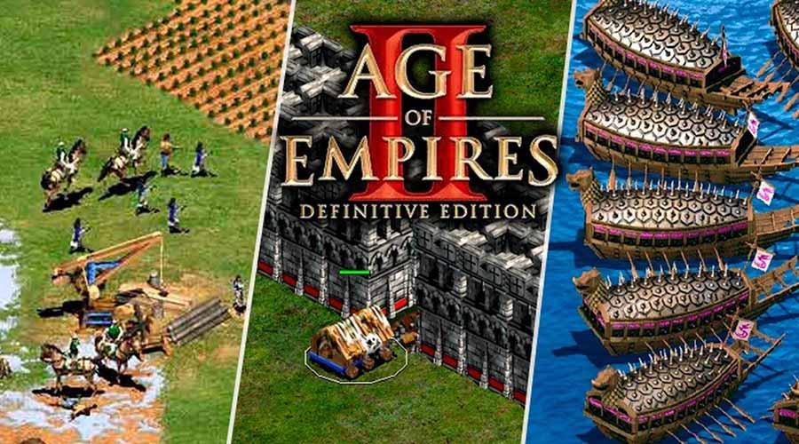 Game đế chế là game chiến thuật thời gian thực