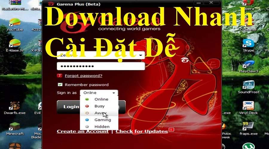 Garena Plus download và cài đặt dễ dàng