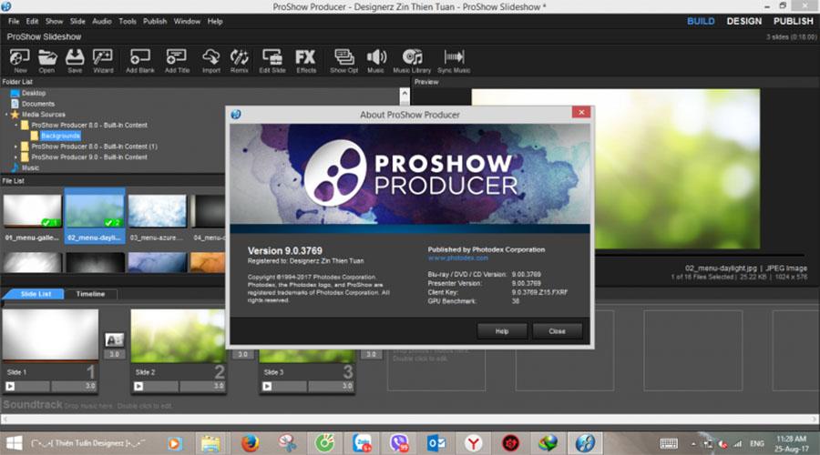 Proshow Producer phần mềm dựng video từ hình ảnh