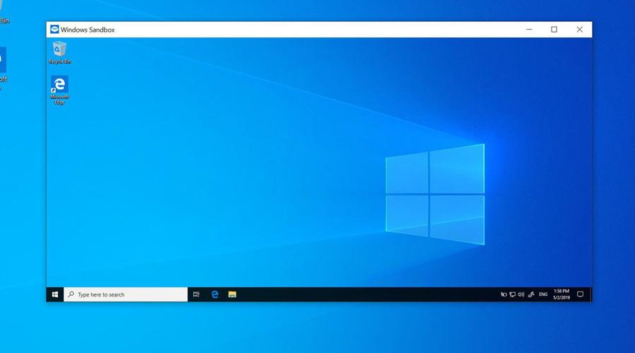 Windows Sandbox trên Windows 10 1903 64bit