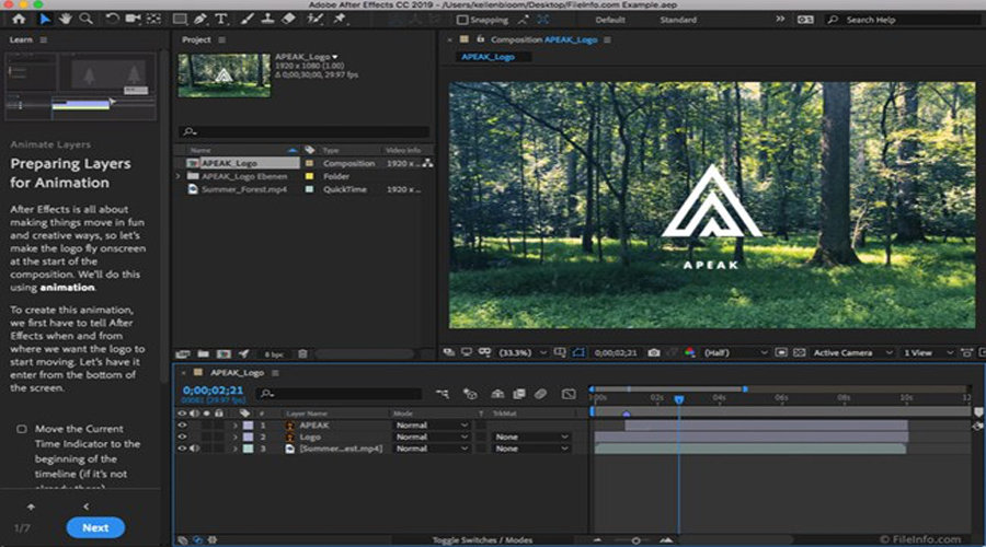Adobe After Effect for Mac Full