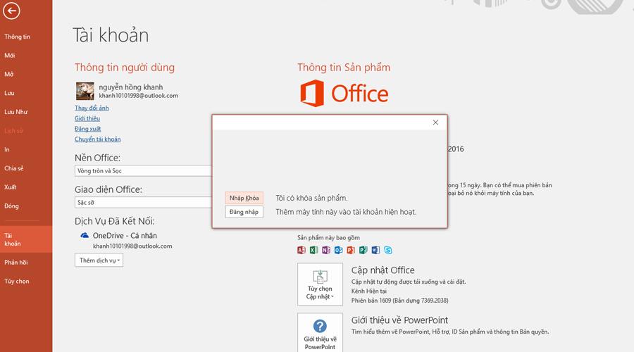 Tổng hợp Key Office 2016 kích hoạt Active bản quyền mới nhất