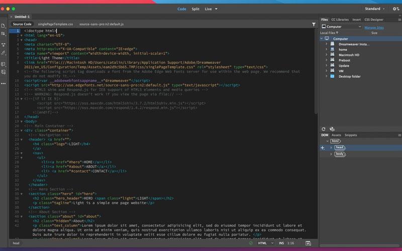 giao-dien-lap-trinh-Adobe-Dreamweaver-CS6